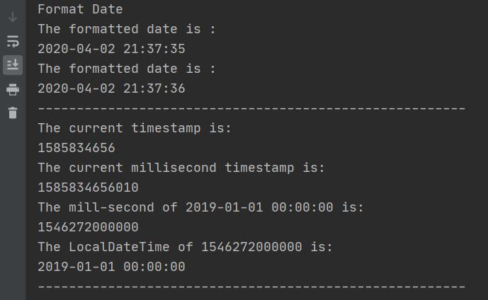 [Java] 日期与时间的一些操作插图